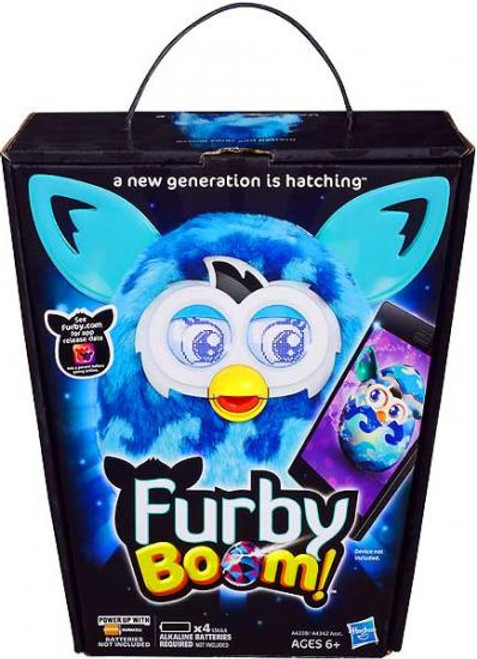 Furby Boom! Blue Waves Figure