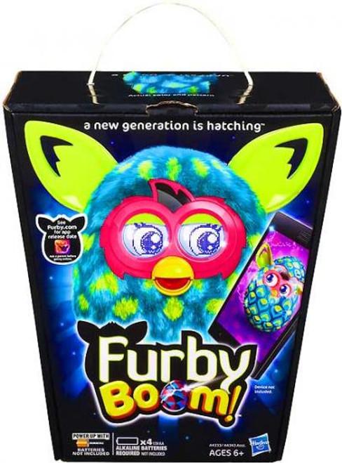 Furby Boom! Green Peacock Figure