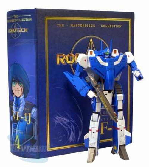 Robotech Macross Masterpiece Collection Volume 4 VF-1J Max Sterling Action Figure