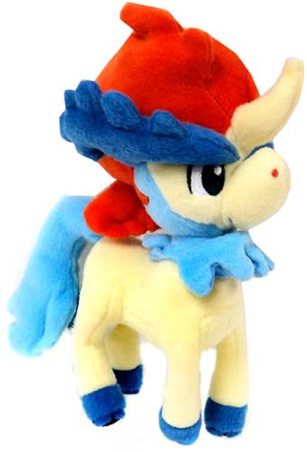 Pokemon Black & White 8 Inch Keldeo Plush [Ordinary Form]
