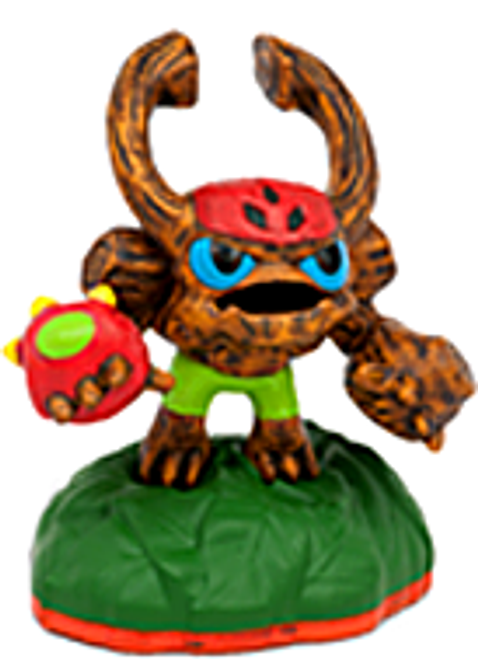 Skylanders Giants Sidekicks Barkley Figure