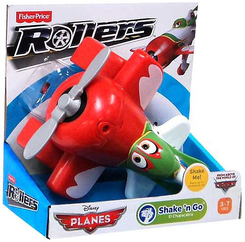 Fisher Price Disney Planes Rollers El Chupacabra Vehicle [Shake 'N Go]