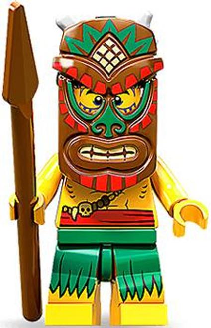 LEGO Minifigures Series 11 Tiki Isalnd Warrior Minifigure [Loose]