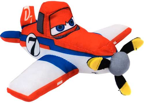 Disney Planes Dusty 6-Inch Plush [Orange, Blue & White]