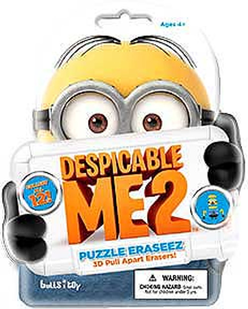 Despicable Me 2 Eraseez Collectible Puzzle Eraser Mystery Pack