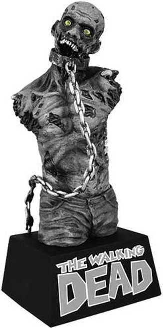 Walking Dead Comic Staues & Busts Michonne's Pet Zombie Bust Bank [Black & White]