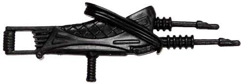 GI Joe Loose Weapons Aquatic Electro-Harpoon Rifle Action Figure Accessory [Black Loose]