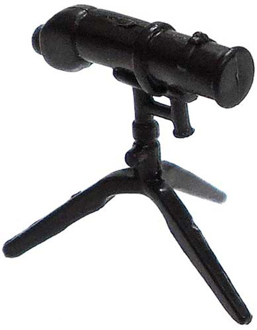 GI Joe Loose Weapons Telescopic Range Finder on Tri-Pod Action Figure Accessory [Black Loose]