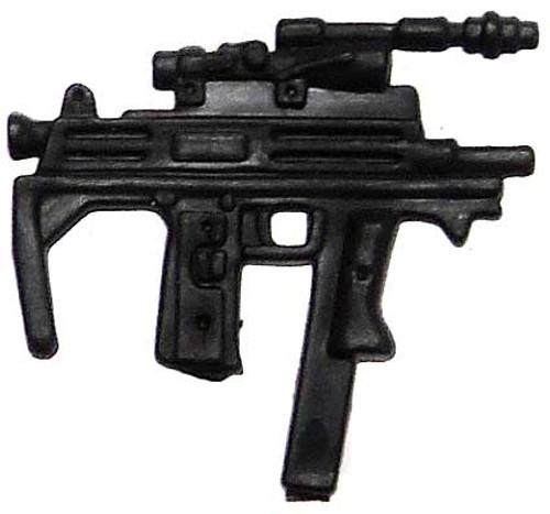 GI Joe Loose Weapons Custom Mac 10 SMG Action Figure Accessory [Black Loose]
