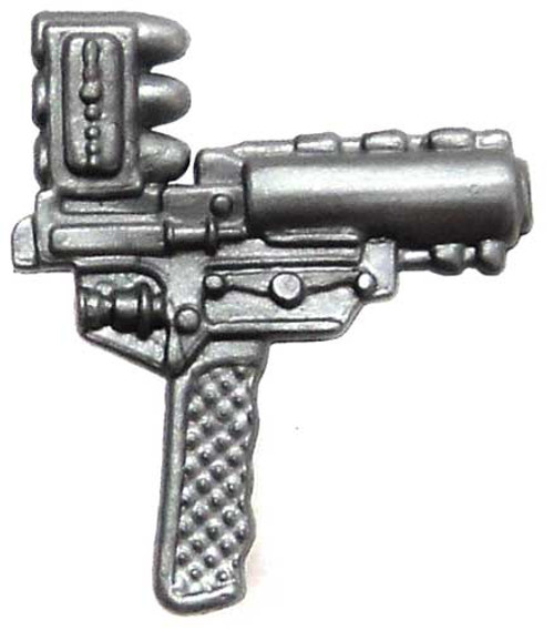 GI Joe Loose Weapons Top-Loading Grenade Pistol Action Figure Accessory [Silver Loose]