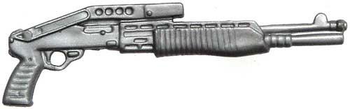 GI Joe Loose Weapons SPAS-12 Action Figure Accessory [Silver Loose]