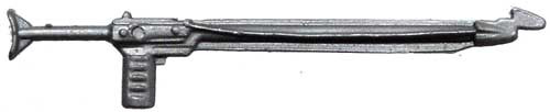 GI Joe Loose Weapons Spear Gun Action Figure Accessory [Silver Loose]