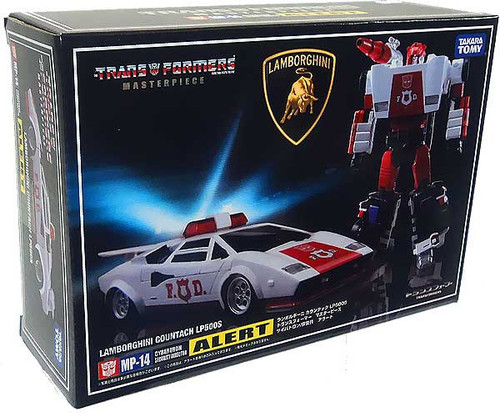 Transformers Japanese Masterpiece Collection Red Alert Action Figure MP-14
