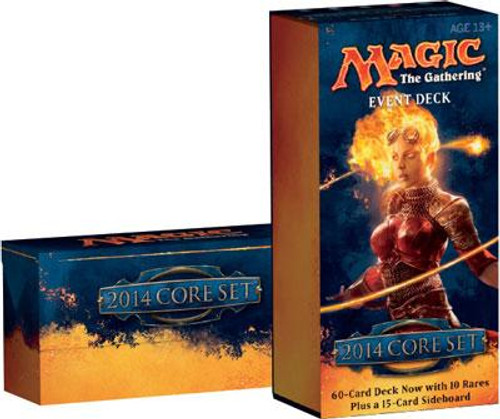 MtG Magic 2014 Rush of the Wild Event Deck [Sealed Deck]