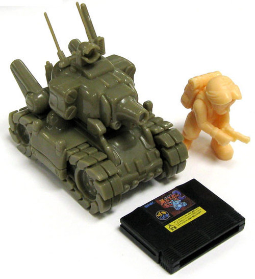 Neo Geo A.R.T.S. Gashapon Super Vehicle Metal Slug 001/II Model