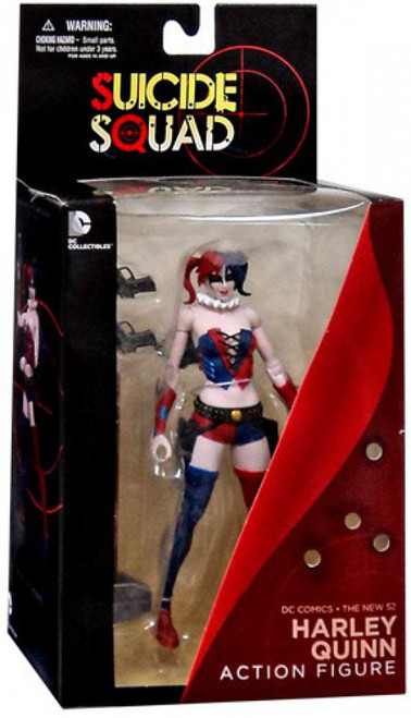 DC Suicide Squad The New 52 Harley Quinn Action Figure