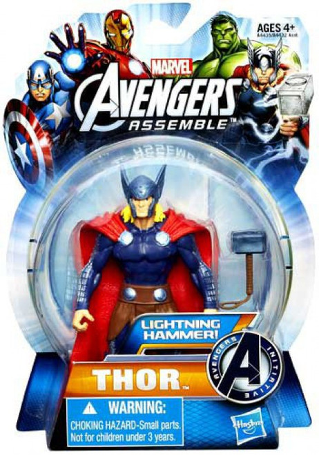 Marvel Avengers Assemble Thor Action Figure [Lightning Hammer]