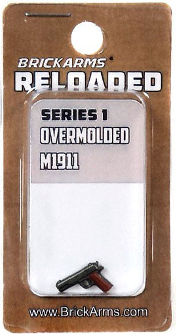 BrickArms Reloaded Series 1 Weapons M1911 (RANDOM COLORS) 2.5-Inch [Overmolded] [New Sealed]
