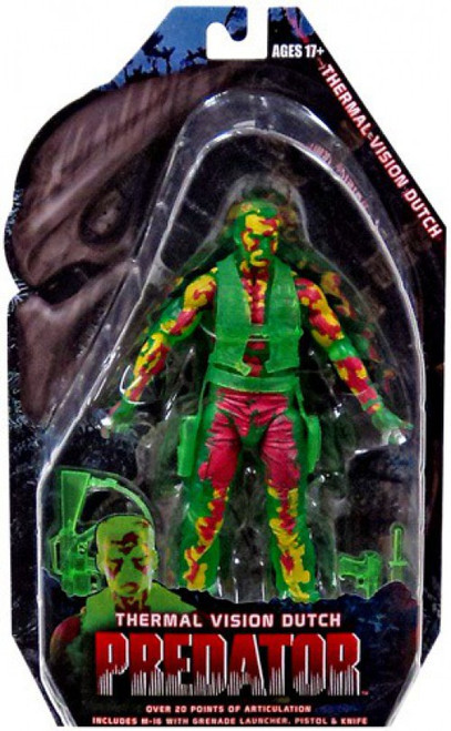 NECA Predator Series 11 Thermal Vision Dutch Action Figure
