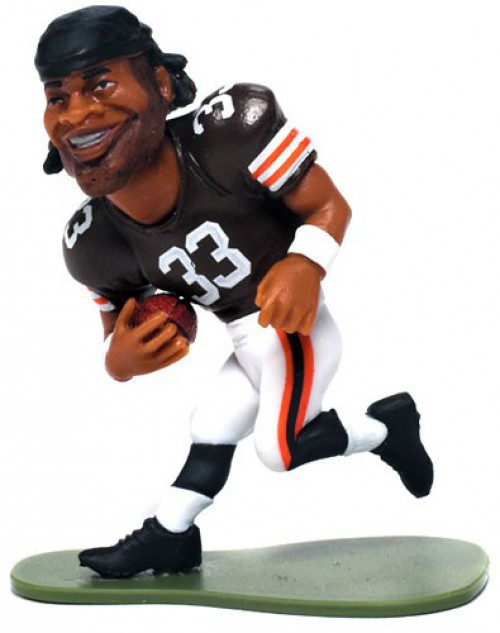 McFarlane Toys NFL Cleveland Browns Small Pros Series 1 Trent Richardson Mini Figure [Loose]