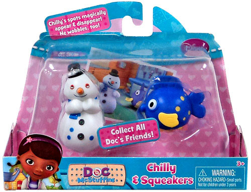 Disney Doc McStuffins Chilly & Squeakers Action Figure 2-Pack