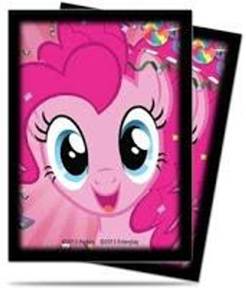 Ultra Pro My Little Pony Collectible Card Game Card Supplies Pinkie Pie Deck Protector Standard Card Sleeves [65 ct]