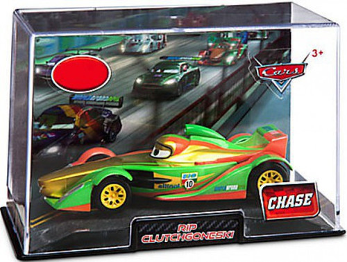 Disney Cars 1:43 Collectors Case Rip Clutchgoneski Exclusive Diecast Car [Chase Edition]
