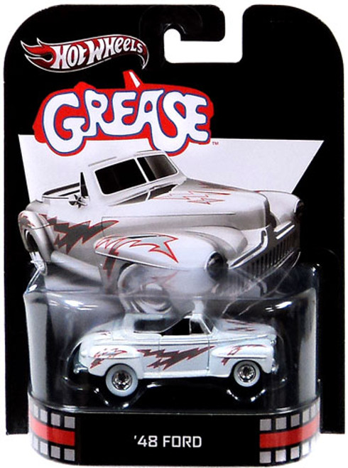 Grease Hot Wheels Retro '48 Ford Diecast Vehicle