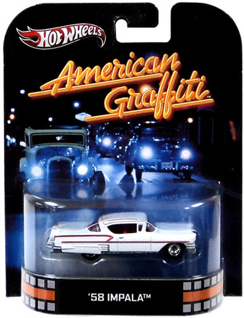 American Graffiti Hot Wheels Retro '58 Impala Diecast Vehicle