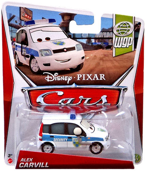 Disney Cars Series 3 Alex Carvill Diecast Car