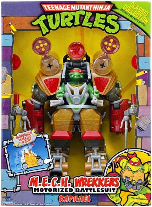 Teenage Mutant Ninja Turtles 1987 M.E.C.H Wrekkers Raphael Action Figure