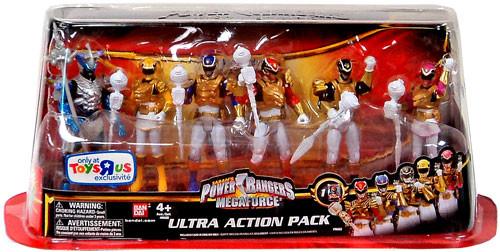 Power Rangers Megaforce Ultra Action Pack Exclusive Action Figure Set
