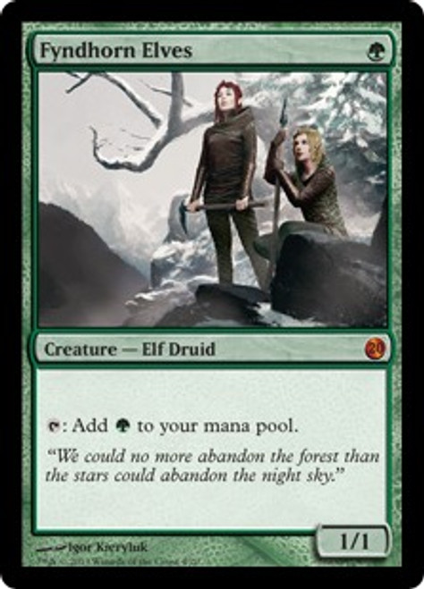 MtG From the Vault: Twenty Mythic Rare Fyndhorn Elves #4
