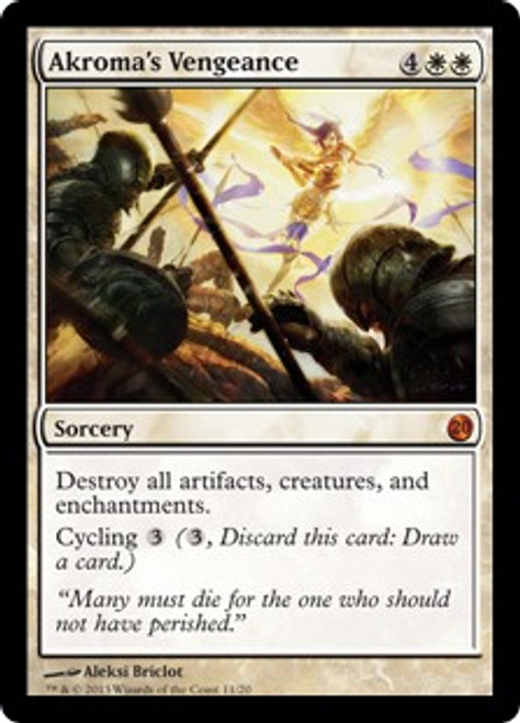 MtG From the Vault: Twenty Mythic Rare Akroma's Vengeance #11