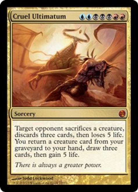 MtG From the Vault: Twenty Mythic Rare Cruel Ultimatum #17