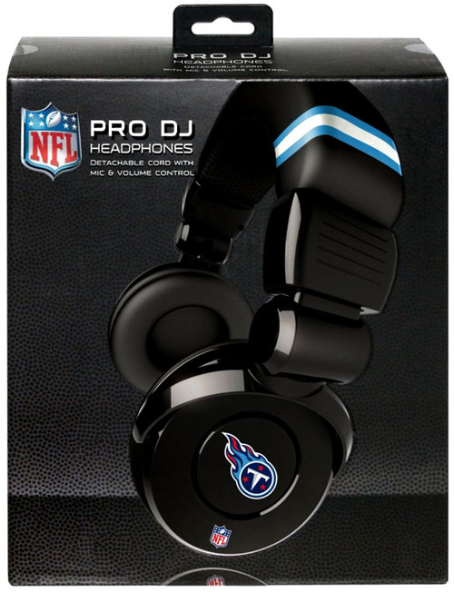 NFL Sports Pro DJ Tennessee Titans Headphones