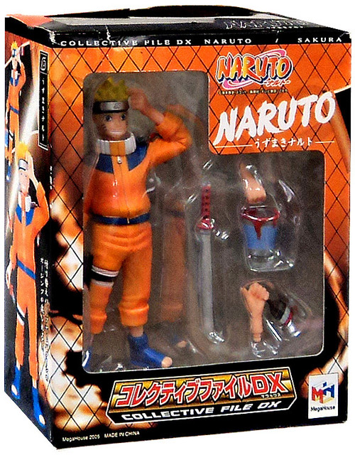 Collective File DX Naruto Uzumaki PVC Figure
