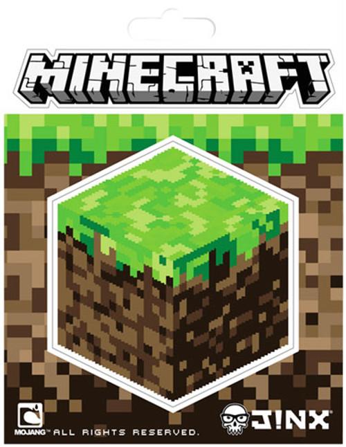 Minecraft Dirt Block 3-Inch Sticker
