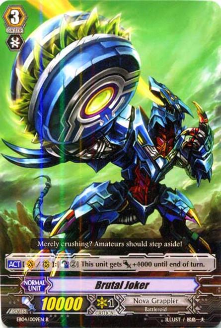 Cardfight Vanguard Infinite Phantom Legion Rare Brutal Joker EB04/009