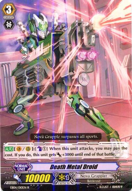 Cardfight Vanguard Infinite Phantom Legion Rare Death Metal Droid EB04/010