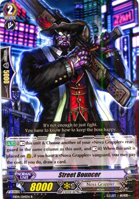 Cardfight Vanguard Infinite Phantom Legion Rare Street Bouncer EB04/014