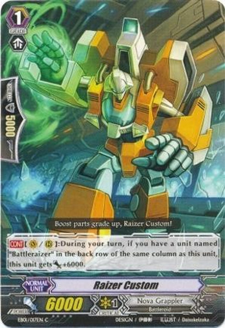 Cardfight Vanguard Infinite Phantom Legion Common Raizer Custom EB04/026