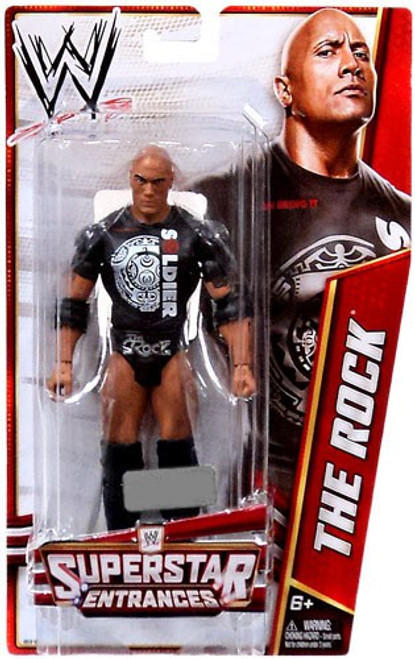 WWE Wrestling Superstar Entrances The Rock Exclusive Action Figure