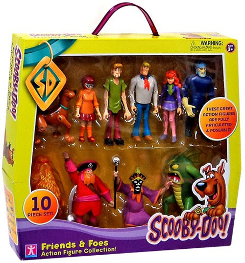 Scooby Doo Friends & Foes Exclusive Action Figure Set