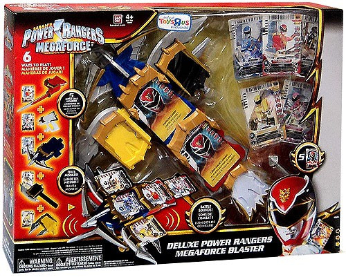 Deluxe Power Rangers Megaforce Blaster Exclusive Roleplay Toy