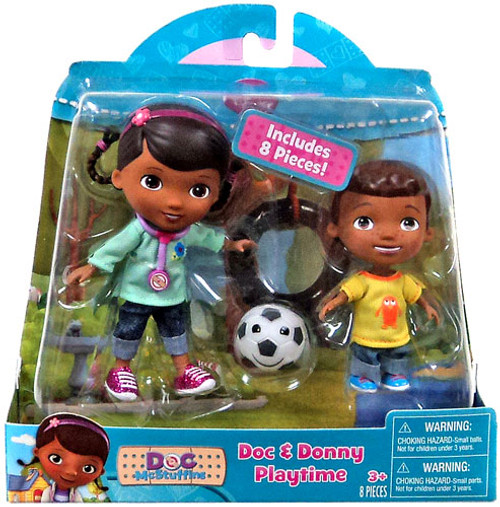 Disney Doc McStuffins Doc & Donny Action Figure 2-Pack [Playtime]