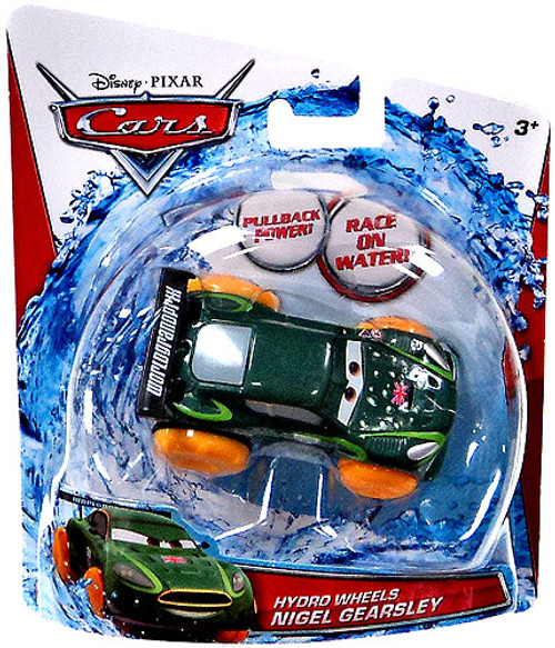 Disney Cars Hydro Wheels Nigel Gearsley Plastic Car