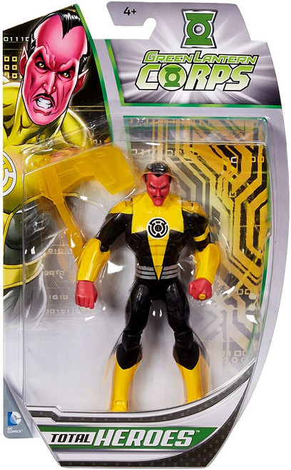 DC Total Heroes Sinestro Action Figure
