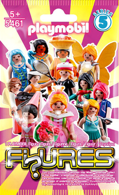 Playmobil Fi?ures Figures Series 5 Pink Mystery Pack