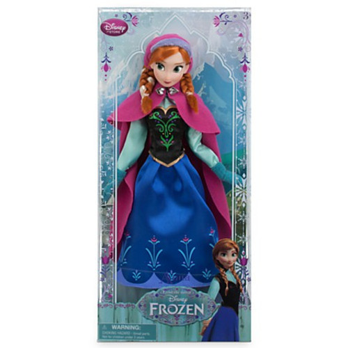 Disney Frozen 2013 Classic Anna Exclusive 12-Inch Doll